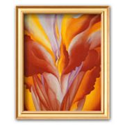 Art.com 'Red Canna' Framed Art Print by Georgia O'Keeffe