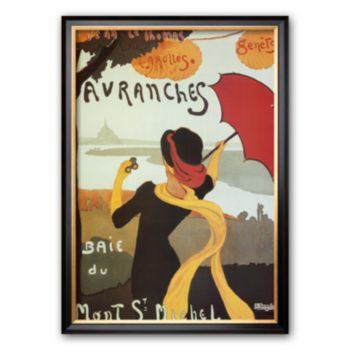 Art.com Avranches Framed Art Print by Albert Bergevin