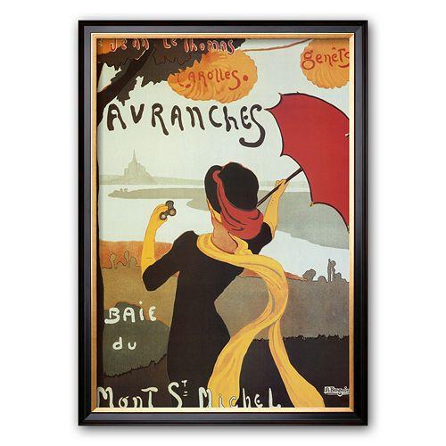 "Art.com ""Avranches"" Framed Art Print by Albert Bergevin"