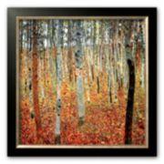 """Art.com """"Forest of Beech Trees, c.1903"""" Framed Art Print by Gustav Klimt"""