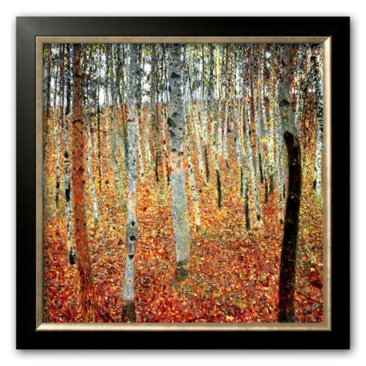 Art.com Forest of Beech Trees, c.1903 Framed Art Print by Gustav Klimt