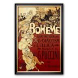 "Art.com ""La Boheme, Musica di Puccini"" Framed Art Print by Adolfo Hohenstein"