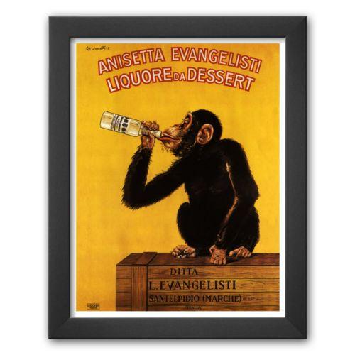 Art.com Anisetta Evangelisti Liquore Da Dessert Framed Art Print