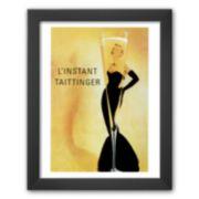 """Art.com """"L' Instant Taittinger - Grace Kelly"""" Framed Art Print"""