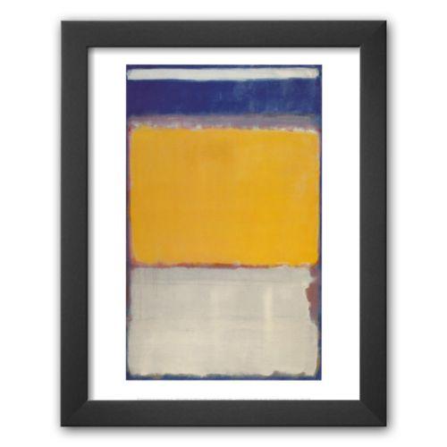 Art.com Number 10 Framed Art Print By Mark Rothko