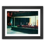 Art.com Nighthawks, c. 1942 Framed Art Print by Edward Hopper