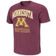 Colosseum Minnesota Golden Gophers Outfield Slubbed Tee