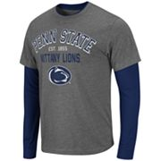 Colosseum Penn State Nittany Lions Venture Mock-Layer Tee - Men