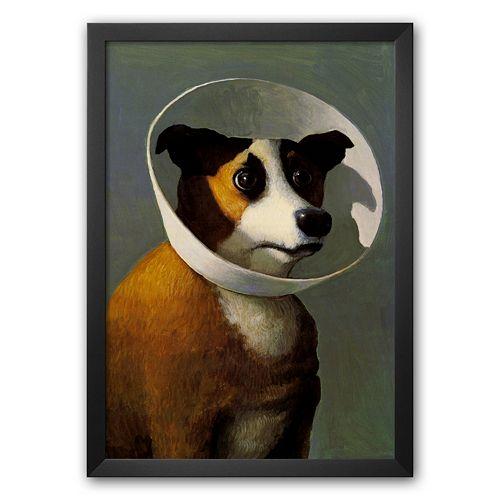 Art.com Filmhound 25.125 x 18.25 Framed Art Print by Michael Sowa