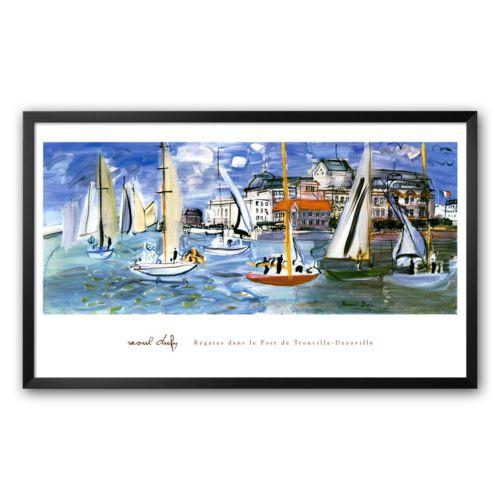 Art.com Port de Trouville Framed Art Print by Raoul Dufy