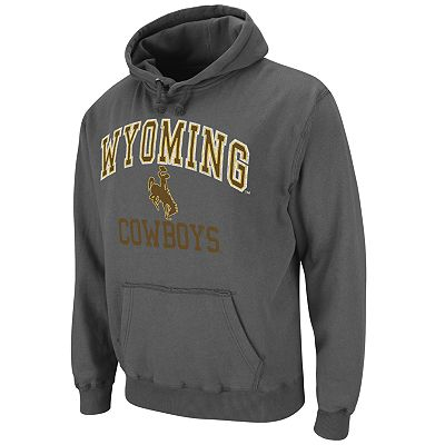 Colosseum Wyoming Cowboys Outlaw Fleece Hoodie - Men