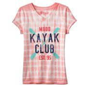Mudd Kayak Club Tie-Dye Tee - Girls Plus