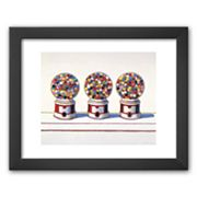 Art.com Three Machines, 1963 Framed Art Print by Wayne Thiebaud