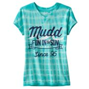 Mudd Fun in the Sun Tie-Dye Tee - Girls 7-16