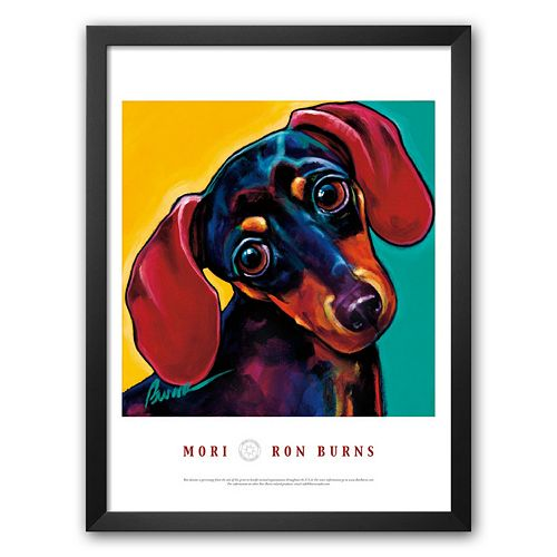 Art.com Mori Framed Art Print by Ron Burns