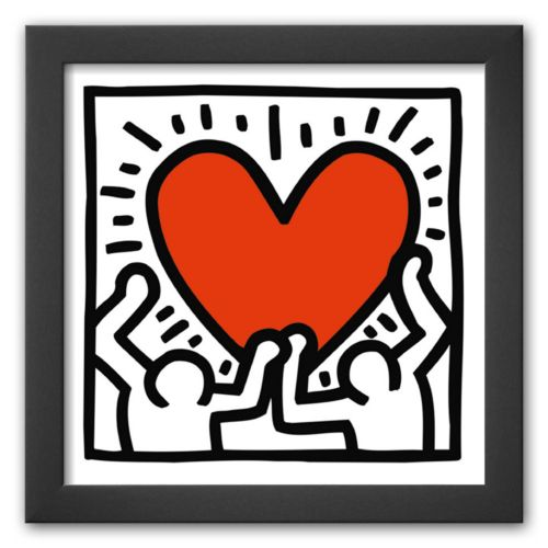 Art.com Untitled, c. 1988 Framed Art Print by Keith Haring