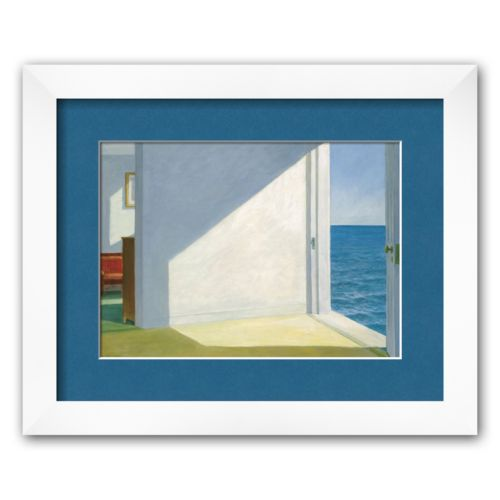 Art.com Rooms by the Sea Framed Art Print by Edward Hopper
