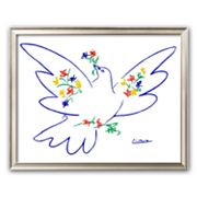 Art.com 'Dove of Peace' Framed Art Print by Pablo Picasso