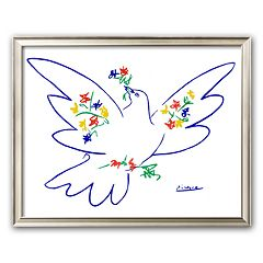 Art.com 'Dove of Peace' Framed Art Print by Pablo Picasso