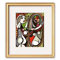 Art.com 'Girl Before a Mirror, c.1932' Framed Art Print by Pablo Picasso