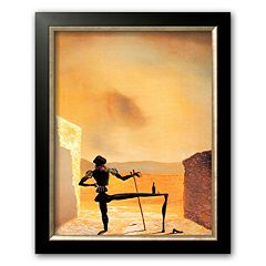 Art.com 'The Ghost of Vermeer' Framed Art Print by Salvador Dali