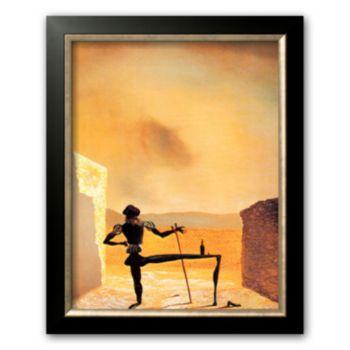 Art.com The Ghost of Vermeer Framed Art Print by Salvador Dalí