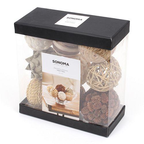 SONOMA Goods for Life™ 9-pk. Botanical Ball Vase Fillers