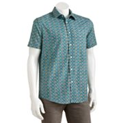 Batik Bay Slim-Fit Square Casual Button-Down Shirt