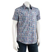 Batik Bay Slim-Fit Floral Casual Button-Down Shirt