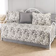Laura Ashley Lifestyles Amberly 5 pc Daybed Quilt Set