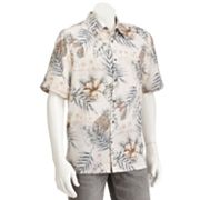 Batik Bay Tropical Casual Button-Down Shirt