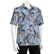 Batik Bay Palm Tree Casual Button-Down Shirt