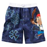Disney Jake and the Never Land Pirates Swim Trunks - Toddler