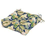 Greendale Home Floral Leaf Outdoor Chair Pad