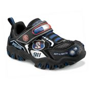 Skechers Hot Lights Damager Police II Light-Up Shoes - Toddler Boys