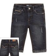 Levi's Boardwalk Denim Skimmer Pants - Toddler