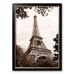 Art.com Paris 'Eiffel Tower in Spring' Framed Art Print by Jonathan Larsen