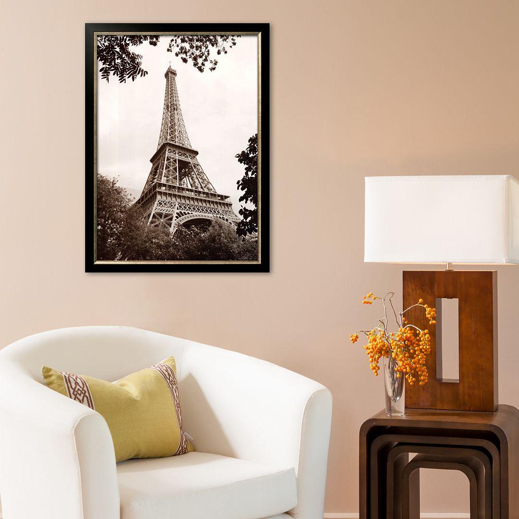Art.com Paris Eiffel Tower in Spring Framed Art Print by Jonathan Larsen