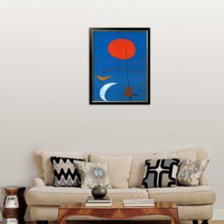 Art.com Entwurf fur eine Tapisserie Framed Art Print by Joan Miró