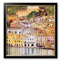 Art.com 'Malcesine Sul Garda' Framed Art Print By Gustav Klimt