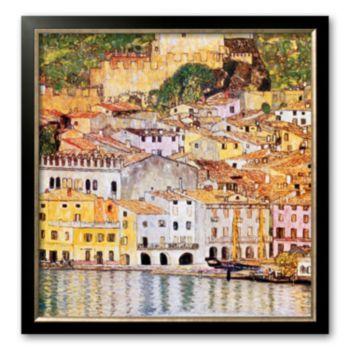 Art.com Malcesine Sul Garda Framed Art Print By Gustav Klimt