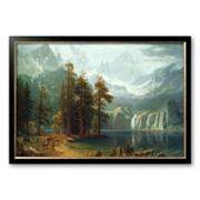 Art.com Sierra Nevada in California Framed Art Print by Albert Bierstadt
