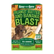 Bake A Bone Peanut Butter and Banana Blast Dog Bone Mix