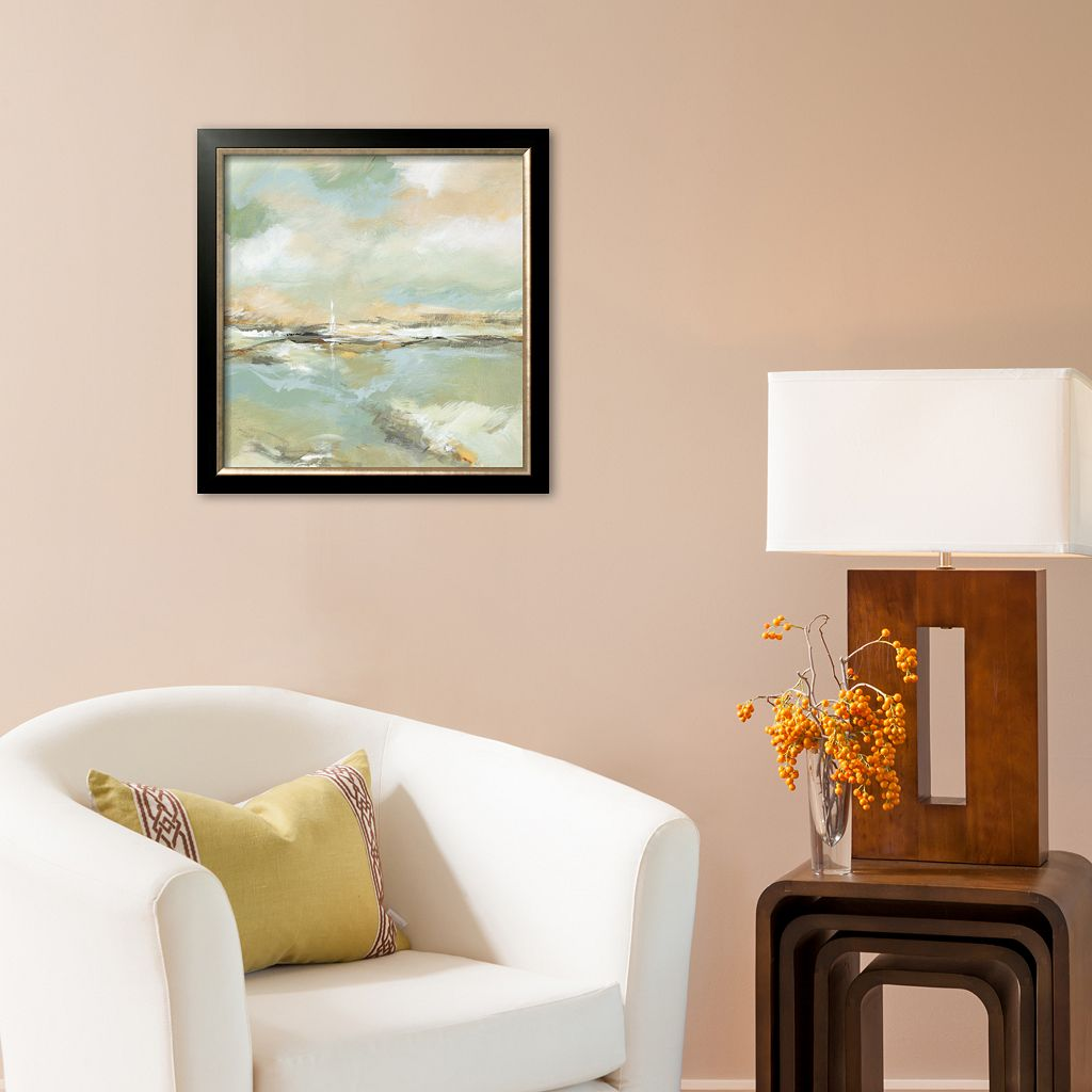 Art.com Waterline I Framed Art Print by Michael King