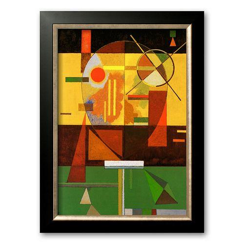 Art.com Zersetzte Spannung Framed Art Print by Wassily Kandinsky