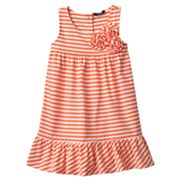 Chaps Striped Sundress - Toddler