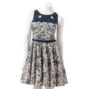 LC Lauren Conrad Floral Fit and Flare Dress