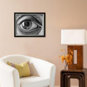 Art.com Eye Framed Art Print By M.C. Escher