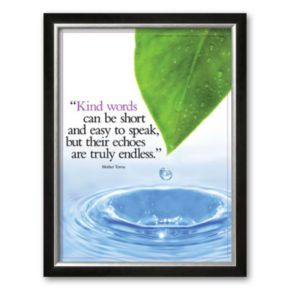 Art.com Kind Words Framed Art Print