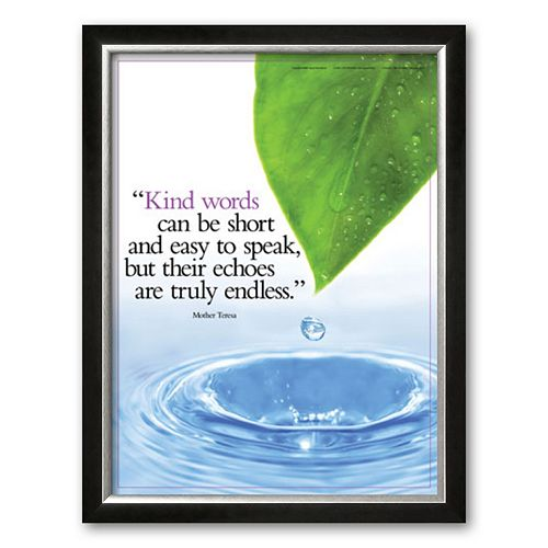 "Art.com ""Kind Words"" Framed Art Print"